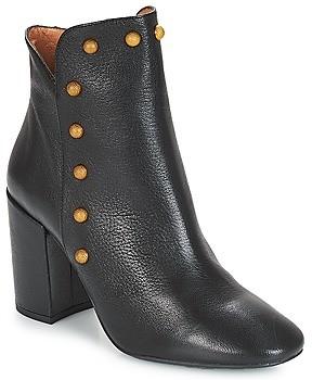 Fericelli JATTIPALIA women's Low Ankle Boots in Black