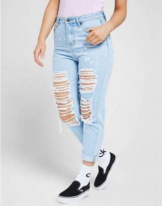 SikSilk Rip High Waisted Skinny Jean