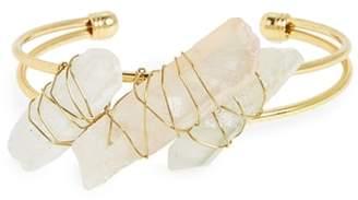 Panacea Pyrite Cuff Bracelet