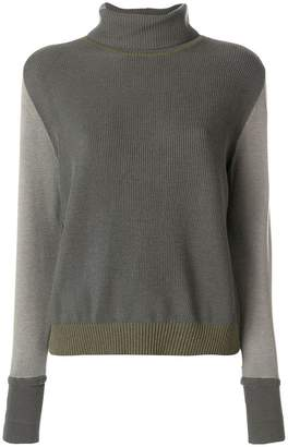 Maison Margiela turtle-neck fitted sweater