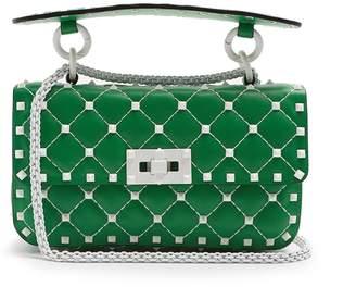 Valentino Free Rockstud Spike small leather shoulder bag