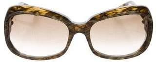 Bottega Veneta Intrecciato Printed Sunglasses