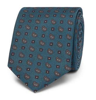 Dolce & Gabbana 6cm Silk-Jacquard Tie - Navy