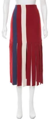 Tata-Naka Tata Naka Midi Ribbon Skirt