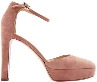 Valentino Pink Suede Heels