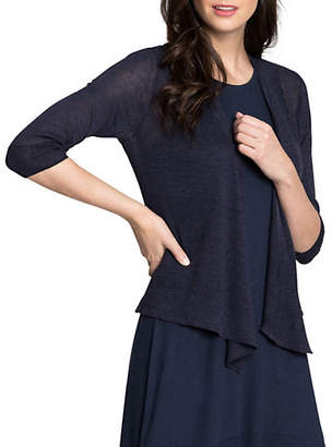 Nic+Zoe Four-Way Open-Front Cardigan