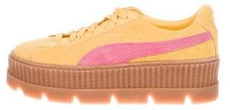 FENTY PUMA by Rihanna Suede Low-Top Sneakers