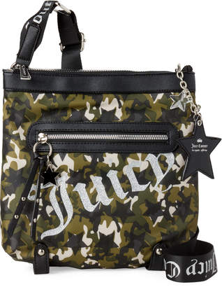 Juicy Couture Camo Star-Studded Crossbody