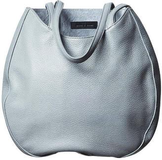 "Essie Sneha | Varma Leather Handbag with Pony Hair Interior Hobo"""