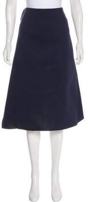 Marni Neoprene Knee-Length Skirt