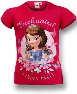 Disney Sofia the First Girls Enchanted Print Tshirt Age 3 to 8 Years