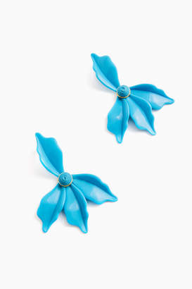 Americana Azure Lily Earrings