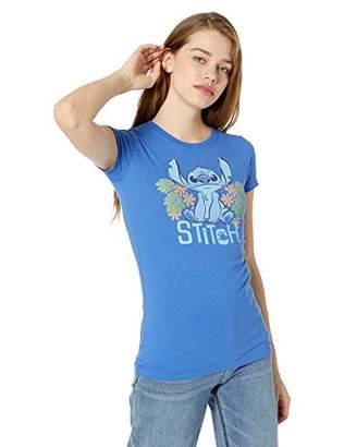 Disney Lilo & Stitch Pineapples Juniors Women Boyfriend Tee