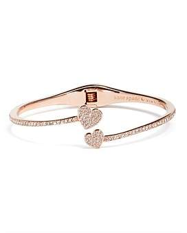 Kate Spade Pave Open Hinge Cuff