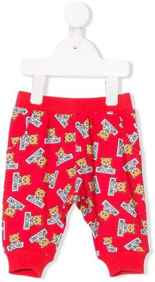 Moschino Kids teddy bear print sweatpants