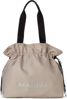 Kenneth Cole Reaction Grey Breezy Drawstring Tote