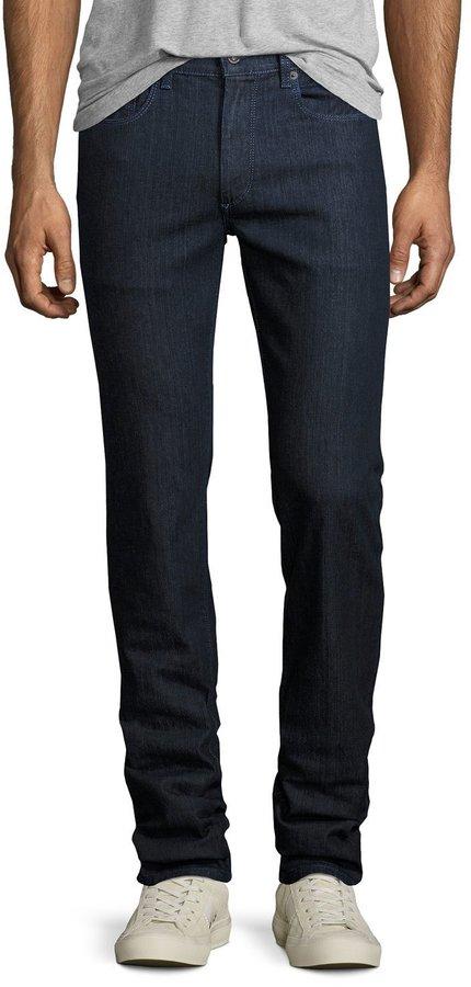 BugatchiBugatchi Five-Pocket Straight-Leg Jeans, Shadow