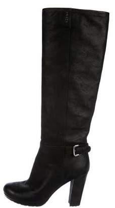 Prada Sport Suede Knee-High Boots