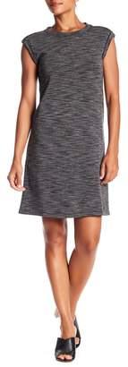 Philosophy Cashmere Scoop Neck Sleeveless Space Tie-Dye Dress