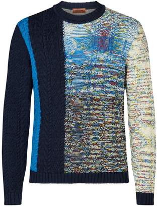 Missoni Contrast Knit Sweater