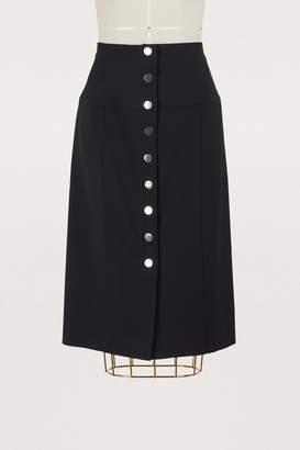Proenza Schouler Button-down pencil skirt