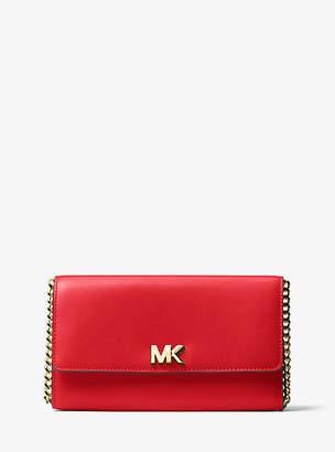 Michael Kors Mott Leather Clutch