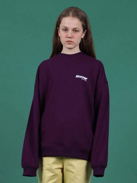 Ncover Signature Logo Sweatshirt Purple