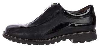 Donald J Pliner Leather Slip-On Sneakers