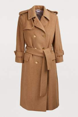 Thom Browne Camel wool coat