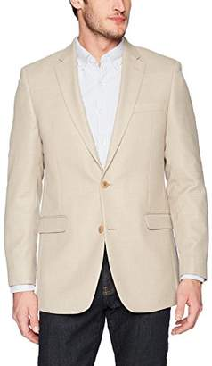 Tommy Hilfiger Men's Single Breast Solid Two Button Blazer