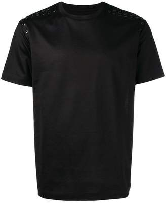 Les Hommes eyelet detailed T-shirt
