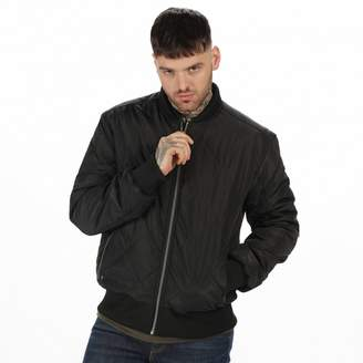 Regatta Black 'Fallowfield' Quilted Bomber Jacket