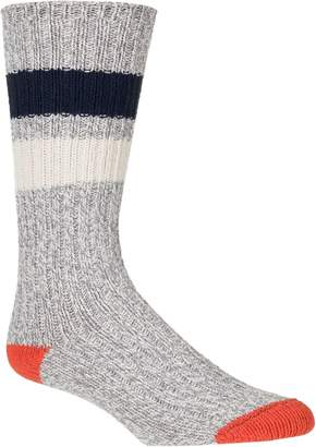 Woolrich 60 Needle Camp Striped Sock - Men's