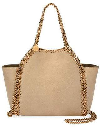 Stella McCartney Falabella Mini Reversible Shaggy Deer Tote Bag
