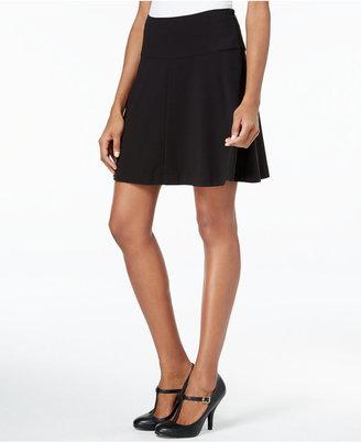 kensie Ponte Skater Skirt $59 thestylecure.com