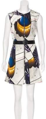 Louis Vuitton Printed Mini Dress w/ Tags