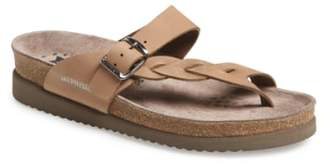 Mephisto 'Helen Twist' Nubuck Leather Sandal