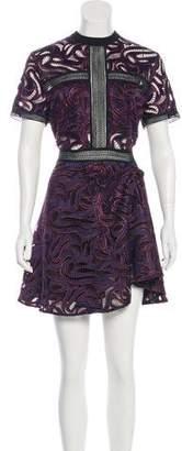 Self-Portrait Lace Mini Dress