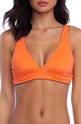 Bikini Lab The Sonic Boom Reversible Triangle Bikini Top