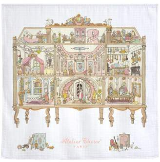 Atelier Choux Doll House Swaddle Blanket