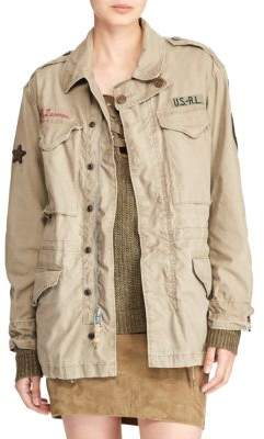 Polo Ralph Lauren Embroidered Combat Jacket