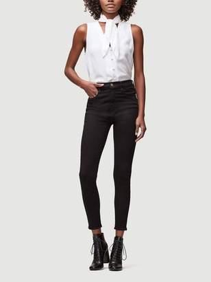 846cd636d0e86 at Frame Denim · Frame Denim Sleeveless Silk Scarf Top Blanc