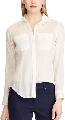 Chaps Women's Star Chambray Shirt