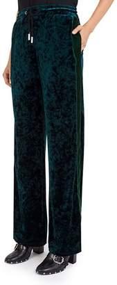 The Kooples Velvet Sweatpants
