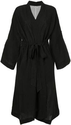 Aleksandr Manamis kimono belted coat