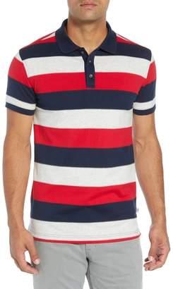 Bobby Jones Rule 58 Regular Fit Wide Stripe Polo