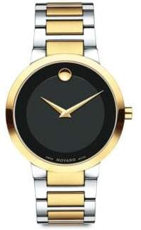 Movado Modern Classic Two-Tone Stainless Steel Bracelet Watch