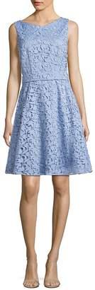 HUGO BOSS Women's Dyferana A-Line Lace Dress
