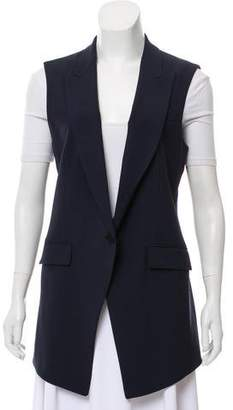 Theory Wool Notched-Lapel Vest