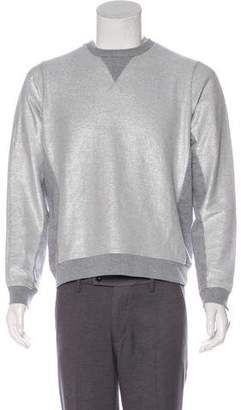 Marc by Marc Jacobs Metallic Crew Neck Sweatshirt